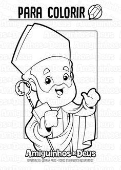 Santo Eusebio De Vercelli Desenho Para Colorir