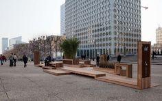 A la Défense, testez un mobilier urbain ludique et original – metronews