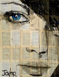 "Saatchi Online Artist Loui Jover; Drawing, ""for us, for you"" #art"