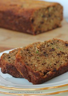 Zucchini bread with dates, almond flour, coconut flour, and banana - sounds delicious--in Australia mixed spice is cinnamon, nutmeg and all spice Paleo Baking, Gluten Free Baking, Gluten Free Desserts, Paleo Food, Paleo Dessert, Healthy Sweets, Dessert Recipes, Healthy Mummy, Healthy Food
