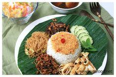 Indonesian nasi ulam