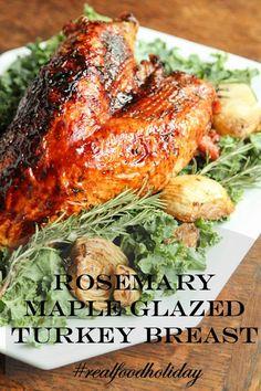 Rosemary Maple Glazed Turkey Breast Recipe | 5DollarDinners.com