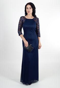 Вечернее платье с длинными рукавами | Dress with long sleeves