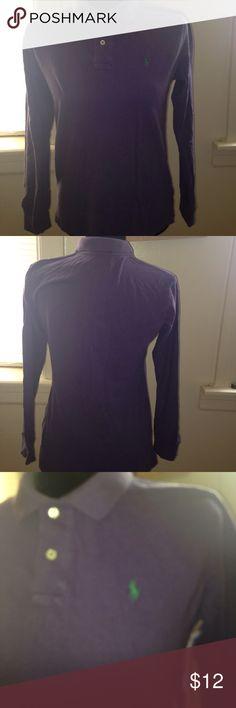 Blue/purplish Ralph Lauren long sleeve polo shirt Blue/purplish Ralph Lauren long sleeve polo shirt Polo by Ralph Lauren Shirts & Tops Polos