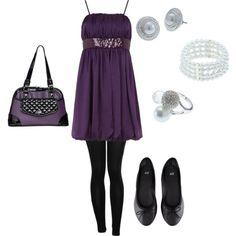 """""""Purple Love!! -- Grace Adele""""   www.bluemomsstyle.graceadele.us"""