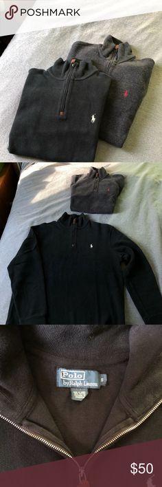 03f323361cb Men s Polo Estate Rib Sweaters (2) Two Polo Estate Rib 1 2 Zip