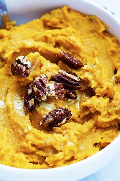 Slow Cooker Mashed Sweet Potatoes - The easiest and tastiest-ever super creamy mashed sweet potatoes made right in your slow cooker!