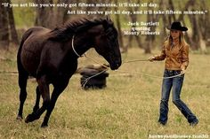 One of my favorite quotes and to top it off its Amy and spartan from HEARTLAND!!!!