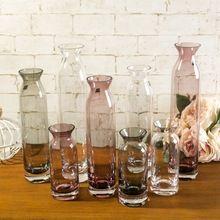 Europa criativa vaso de vidro funil garrafa de decoração de casa flor arranjo florero(China (Mainland))
