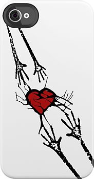 Reach for Love iPhone iPod CASE by Denis Marsili