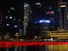 Singapore, Malay Peninsula by Night