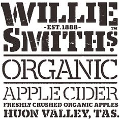 Willie Smith's Organic Apple Cider