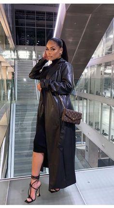 Black Women Fashion, Look Fashion, Autumn Fashion, Fashion Outfits, Cute Casual Outfits, Stylish Outfits, Fall Outfits, Winter Looks, Fall Looks