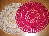 Carpet Doily free pattern