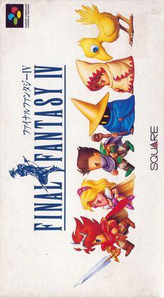 Final Fantasy IV - Super Famicom (front sleeve)