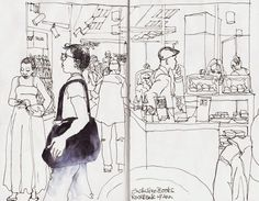 Urban Sketchers: Out and about in Jozi