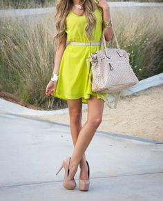 want the length to be an inch and a half longer...however, love the colors of nude and neon yellow!