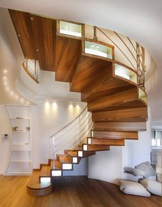 Once-ignored risers—the inserts that connect steps on stairways—are getting the attention of homeowners; lights, metal, porcelain