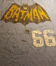 Fandom - BATMAN 66 tshirt - Child Large sz 14 #ebay