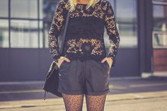 it`s coachella festival season. perfect time for lace outfit