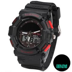 Solar Powered Tactical Watch Camping Hiking #MicroMedia
