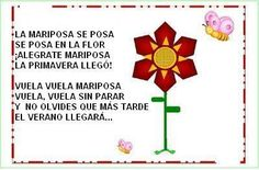 Poemas Primavera Spanish Teacher, Spanish Class, Poems For Students, Spring Poem, Mom Poems, Spanish Songs, Poetry Poem, Grade 1, Classroom