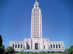 The new State Capitol of Baton Rouge,LA