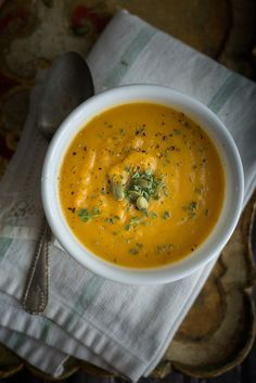 NEW #butternut #Squash #Soup #Recipe  Totally delicious, nourishing and Easy to make #paleo #glutenfree #Instantpot #Pressure Cooker
