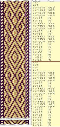 32 tarjetas, 3 colores, repite cada 40 movimientos // sed_658  diseñado en GTT༺❁                                                                                                                                                      More