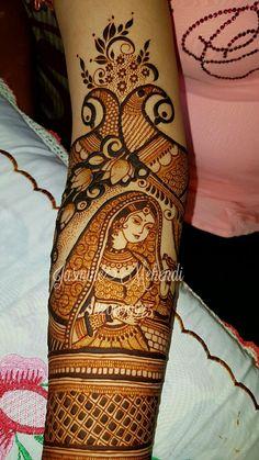 Bridal henna Dulhan Mehndi Designs, Wedding Mehndi Designs, Unique Mehndi Designs, Beautiful Mehndi Design, Arabic Mehndi Designs, Latest Mehndi Designs, Mehandi Henna, Hand Mehndi, Mehendi