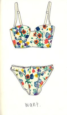 Floral longlines are too pretty to be real. (And affordable and available in my size)