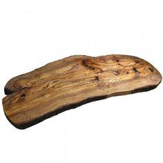 Olive Wood Large Rustic Serving Platter - Olive Wood from Naturally Med