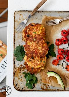Glutenfree Corn Fritters Lorna Jane Nourish - just made these today (8/21/14) and they're great! I didn't follow the recipe proportions exactly, just went with my gut. Also made a lemon-garlic-rosemary yogurt sauce to top it with the avocado - yum yum yum!