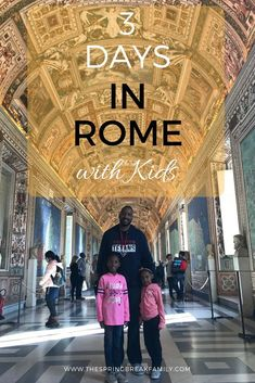 Rome with Kids: Itinerary & Recap - Rome is such a fun and beautiful city to visit with kids! Here is a summary of 3 days in Rome with kids with tips on where to go in Rome, how to get to Rome, where to stay in Rome and more! Italy Travel Tips, Rome Travel, Travel Europe, Travelling Europe, Backpacking Europe, Europe Destinations, Travel Couple, Family Travel, Budapest