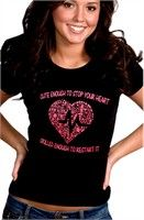 BEWILD.COM: Cute Enough To Stop Your Heart Girl's T-Shirt Buy Now $12.99 Find at Faearch