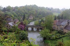 Saint-Céneri, pont sur la Sarthe