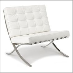 White Exposition Chair