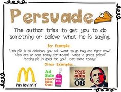 authors purpose - persuade