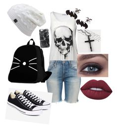 """""""Untitled #20"""" by aubrey-corbett on Polyvore featuring beauty, NSF, Converse, Casetify, Trend Cool and Lime Crime"""