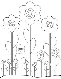 Flower Printable coloring pages.. print enough for Peityn and all the guests, instead of a guest book have people color with her then sign it with a birthday note. Later, put them together like a book (using Peityn's as a cover page to keep for when she's older. Yup came up with that all by myself!!