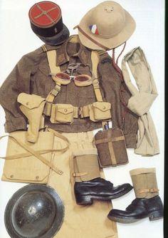 Military Guns, Military History, Ww2 Uniforms, Military Uniforms, French Armed Forces, French History, American History, Native American, French Foreign Legion