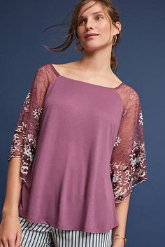 Callista Embroidered Top