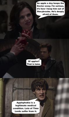 Fandoms collide -- Once Upon a Time and Doctor Who