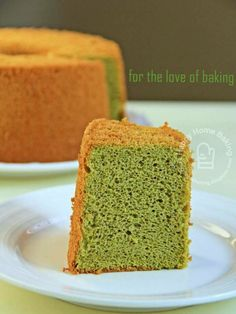 Happy Home Baking: Green Tea Chiffon
