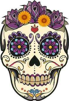 Hermosa decoración de día de muertos. Slvh ❤