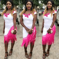 Ankara Short Gown, Short Gowns, Aso Ebi, Lovely Dresses, Fringes, Luxury, Fabric, Inspiration, Beautiful