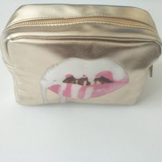 3D Dripping Lips Cosmetic Pouch