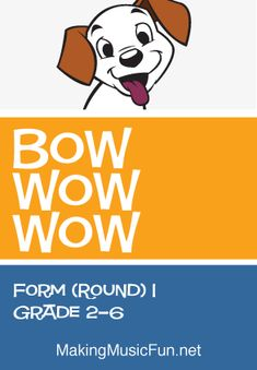 Check Out 'Bow, Wow, Wow' Free Music Lesson Plan for Demonstrating the Musical Round in the Elementa Music Lessons For Kids, Music Lesson Plans, Music For Kids, Piano Lessons, Kids Songs, Elementary Classroom Themes, General Music Classroom, Elementary Music, Classroom Ideas
