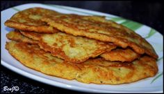 Chrumkavé quiche s brokolicou a tuniakom - NajRecept. Slovak Recipes, Czech Recipes, Hungarian Recipes, Russian Recipes, Hungarian Food, Vegetable Pancakes, Potato Vegetable, Potato Pancakes, Slovakian Food