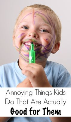 7 Annoying Things Toddlers Do That Are Actually Good for Them - Pick Any Two - (I now see how important it was for my son's brain development that he routinely flung his food across the room :) )